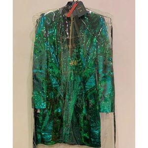 BALMAIN x H&M (Never Opened) Green Sequined Dress